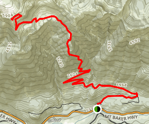 Church Mountain Trail Map