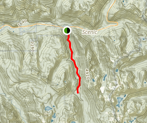Deception Creek Trail Map
