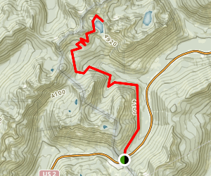 Lake Valhalla Trail Map