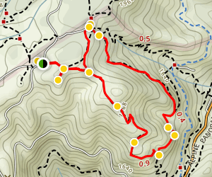 Mountain Theater Loop Map
