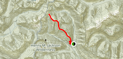 Cady Ridge Trail Map