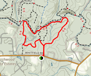 Rhododendron Bluff Circuit Map