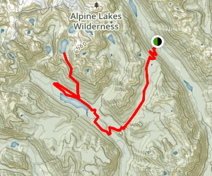 Spade Lake Trail Map