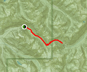 Hannegan Pass Trail Map
