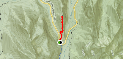 Barlow Point Trail Map
