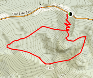 Sherman Peak Loop Trail Map