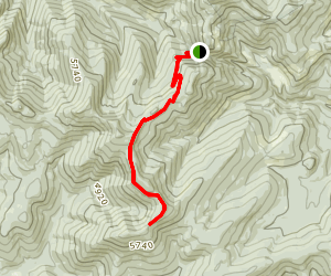 Grassy Top Trail Map