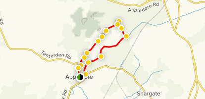 Appledore Loop Map