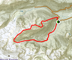 Goat Island Mountain Trail Map