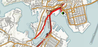 Harbor Passage Trail Map