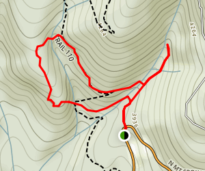 Burping Brook Loop Trail Map