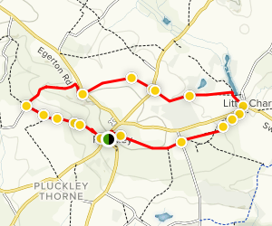 Pluckley Walking Tour Map