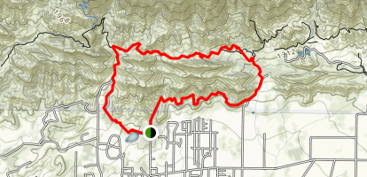 Signal to Firebreak Rd to Valley View Loop (CLOSED) Map