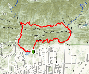 Signal to Firebreak Rd to Valley View Loop Map