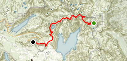 Boundary West End Trail  Map