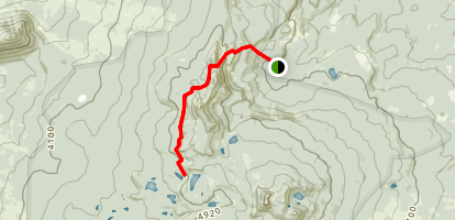 Bird Mountain Trail Map
