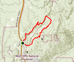 Nightmare Gulch Loop Trail Map