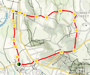 Otford Walking Tour Map