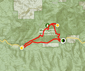 Rooster Rock Trail Map