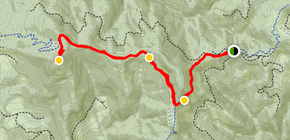 Tire Mountain Trail Map
