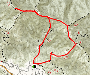Lucas Valley Loop Trail Map