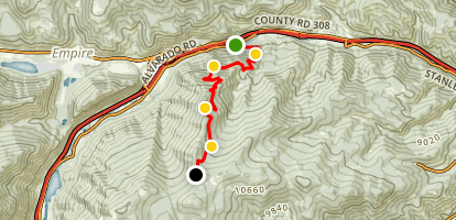Spring Creek 4x4 Trail Map