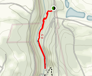 Alpha Pass Trail Map
