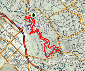 Lane Cove Loop Map