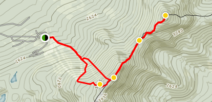 Saddleback and The Horn Trail Map