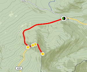 Mount Esther Trail Map
