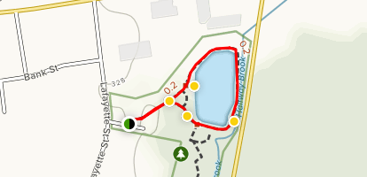 Hovey Pond Trail Map
