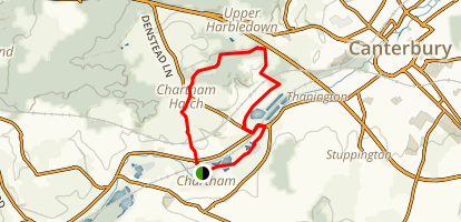 Chartham Trail Map