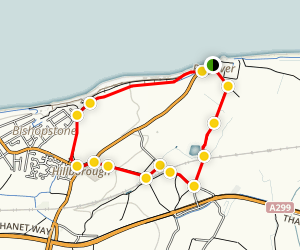 Reculver Walking Tour Map