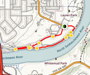 Sir Wilfrid Laurier Park Loop Trail Map