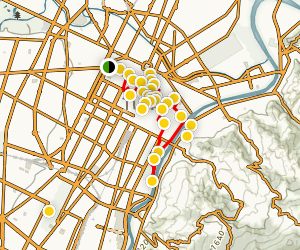Torino City Center Walking Tour Map