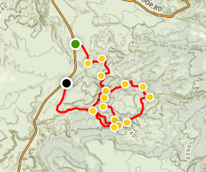 Strike Ravine 4x4 Trail Map