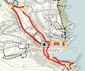 Mevagissey Treasure Trail Map