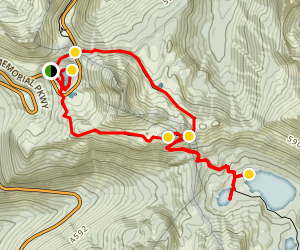 Naches Peak and Tipsoo Lake Loop Trail Map