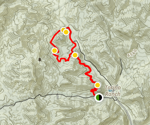 Lovell Canyon Trail Map