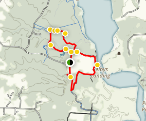 Columbia Air Center Loop Hike through Patuxent River Park Map