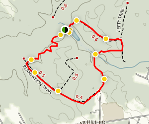 Cedarville Pond Trail Map