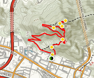 Hiking Tang Lang Hill Country Park Map