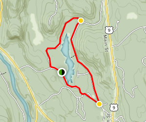 Pack Demonstration Forest Loop Trail Map