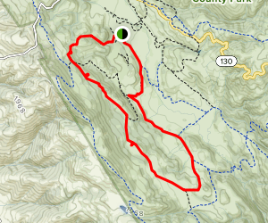 Dutch Flat and Dairy Trails Map