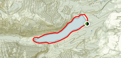 Lake Como Loop Trail Map