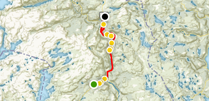 Valle Scenic Drive Map