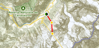 L'Aguille Du Midi via Tram Map