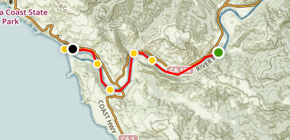 Lower Russian River Paddle Map