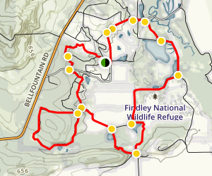 William L. Finley National Wildlife Refuge Mega Loop Map