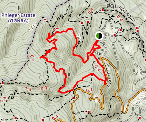 Dean Trail and Campground Trail Map